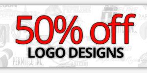 50% off Logo Designs