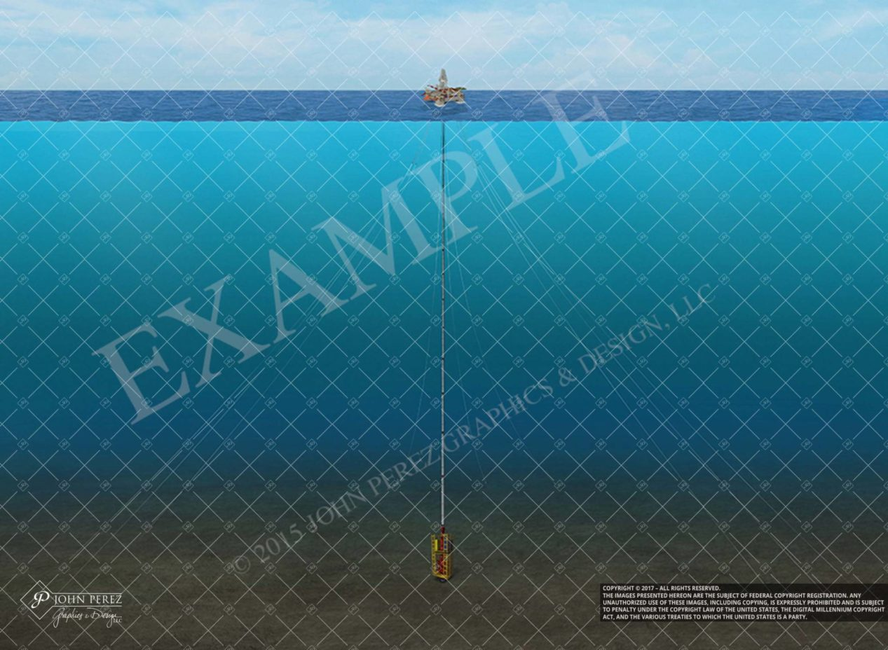Offshore BOP Schematic, john perez graphics, oil gas schematic, oil gas schematic