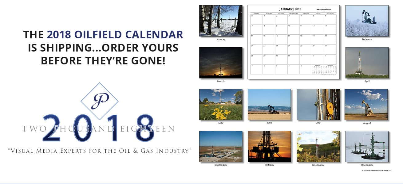 Order a 2018 Oilfield Calendar Single Calendar