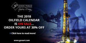 2018 Oilfield Calendar On Sale for 10 Dollars