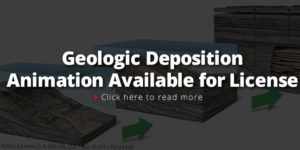This Geologic Deposition Animation Available for license