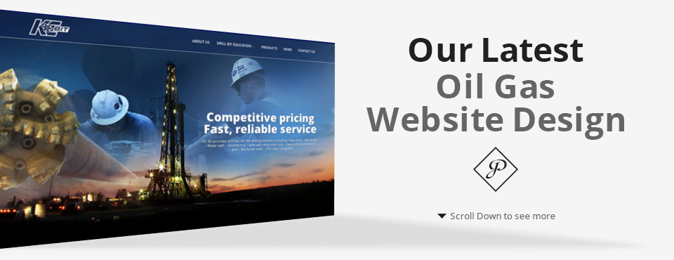 John Perez Graphics Latest Oil Gas Website Design