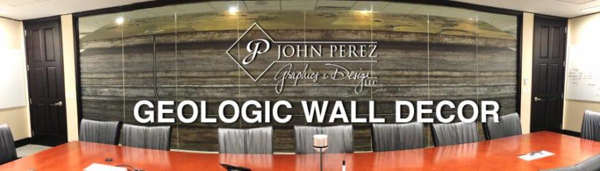 John Perez Graphics Latest Custom Geologic Wall Decor, petroleum art