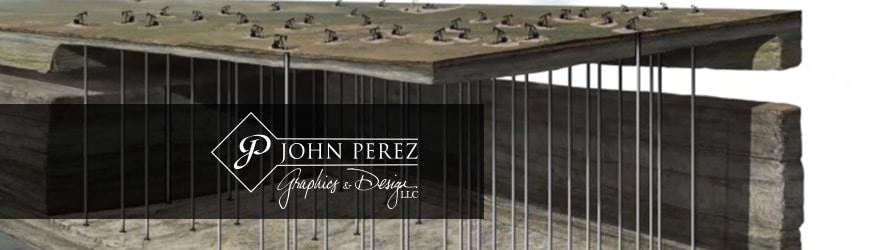 FIELD DEVELOPMENT ILLUSTRATION, john perez graphics, oil gas graphics