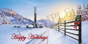 Oil and Gas Holiday Cards